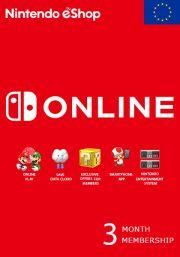 EU Nintendo 3 Month Membership