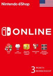 USA Nintendo 3 Month Membership