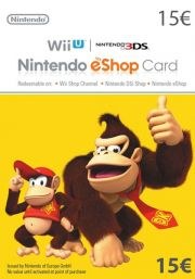 EU Nintendo 15 Euro eShop Gift Card