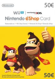 EU Nintendo 50 Euro eShop Gift Card