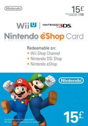 UK Nintendo 15 Pound eShop Gift Card