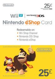 UK Nintendo 25 Pound eShop Gift Card
