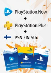 Finland PSN 12 Month Combo