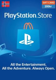 Norway PSN 200 NOK Gift Card