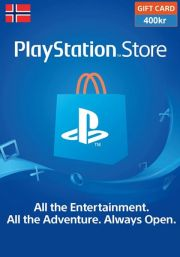 Norway PSN 400 NOK Gift Card