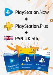 UK PSN 12 Month Combo