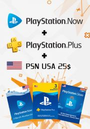 USA PSN 3 Month Combo