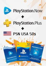 USA PSN 12 Month Combo