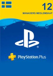 Sweden PSN Plus 12-Month Subscription Code