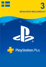 Sweden PSN Plus 3-Month Subscription Code