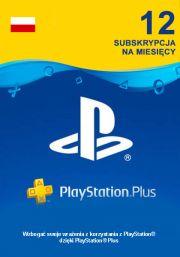 Poland PSN Plus 12-Month Subscription Code