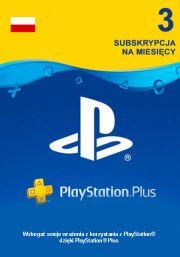 Poland PSN Plus 3-Month Subscription Code