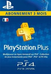 France PSN Plus 3-Month Subscription Code