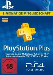 Germany PSN Plus 3-Month Subscription Code