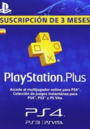 Spain PSN Plus 3-Month Subscription Code