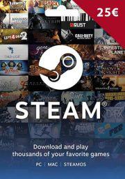 EU Steam 25 Euro Gift Card