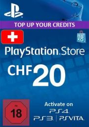 Switzerland PSN 20 CHF Gift Card