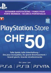 Switzerland PSN 50 CHF Gift Card