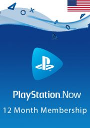 USA PlayStation Now 12-Month Subscription