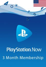 USA PlayStation Now 3-Month Subscription