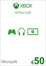 EU Xbox 50 Euro GIft Card (Xbox One & 360)