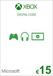 EU Xbox 15 Euro Gift Card
