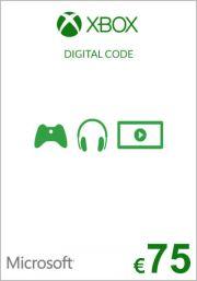 EU Xbox 75 Euro Gift Card
