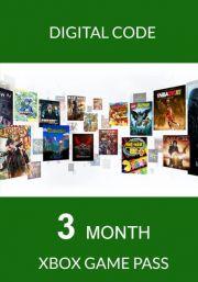 Xbox Game Pass 3 Month Membership