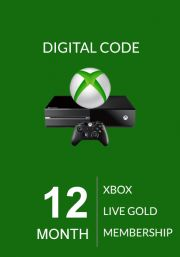 Xbox Live 12 Month Gold Membership (Global)