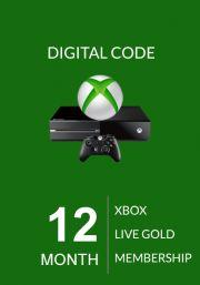 Xbox Live Gold 12 Month Membership (Global)
