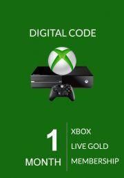 Xbox Live Gold 1 Month Membership (Global)