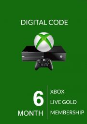 Xbox Live Gold 6 Month Membership (Global)