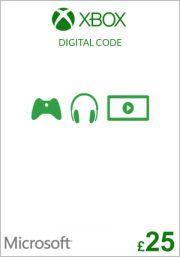 UK Xbox 25 Pound Gift Card