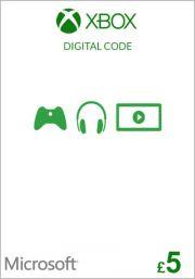 UK Xbox 5 Pound Gift Card