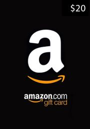 USA Amazon $20 Gift Card