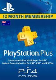 Australia PSN Plus 12-Month Subscription Code