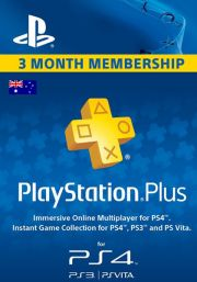 Australia PSN Plus 3-Month Subscription Code