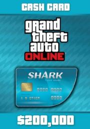 GTA V Online Cash Card: Tiger Shark 200,000$ [PC]
