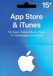 iTunes Germany 15€ Gift Card