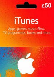 iTunes UK £50 Gift Card