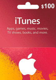 iTunes USA 100 USD Gift Card