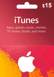 iTunes USA 15 USD Gift Card
