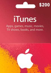 iTunes USA 200 USD Gift Card