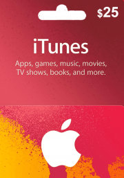 iTunes USA 25 USD Gift Card
