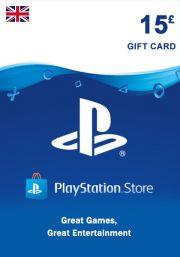 UK PSN 15 GBP Gift Card
