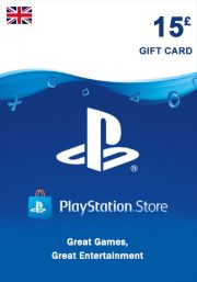 UK PSN 15 GBP Gift Card