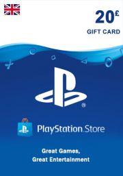UK PSN 20 GBP Gift Card