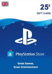 UK PSN 25 GBP Gift Card