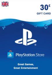 UK PSN 30 GBP Gift Card