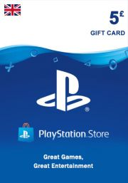 UK PSN 5 GBP Gift Card